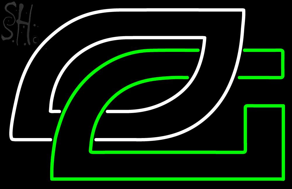 Custom Optic Gaming Logo Neon Sign 3 | Neon Signs | Neon Light