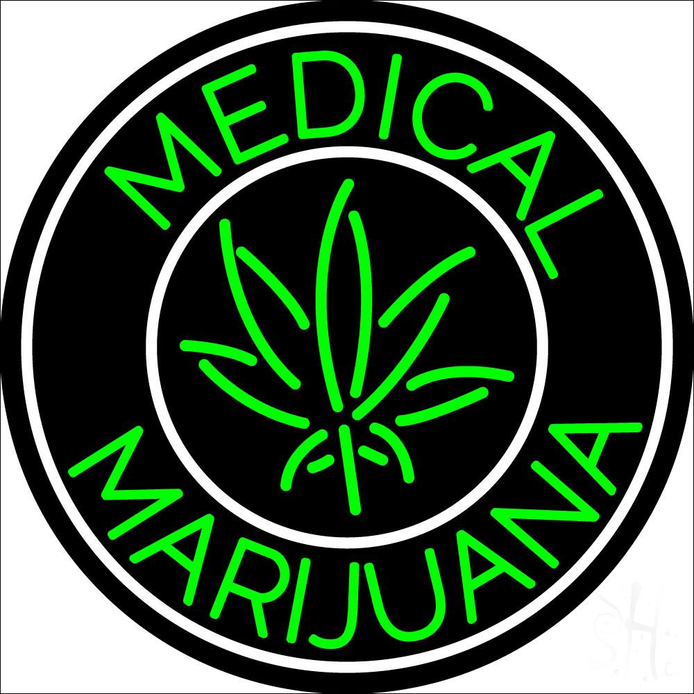 medical cross marijuana neon sign medical neon signs