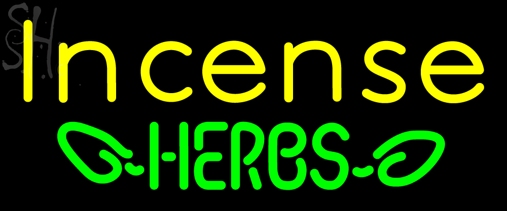 Custom Bee Incense Herbs Neon Sign 2