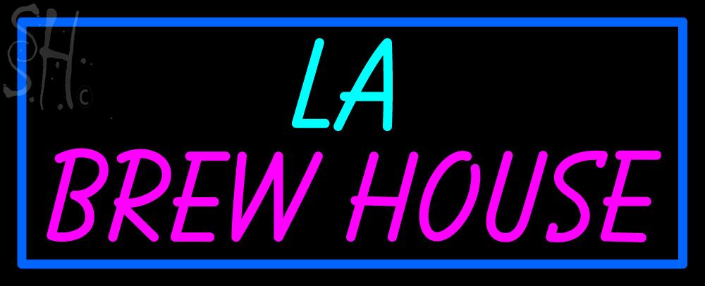 custom la brew house neon sign 1 your custom signs neon light. Black Bedroom Furniture Sets. Home Design Ideas