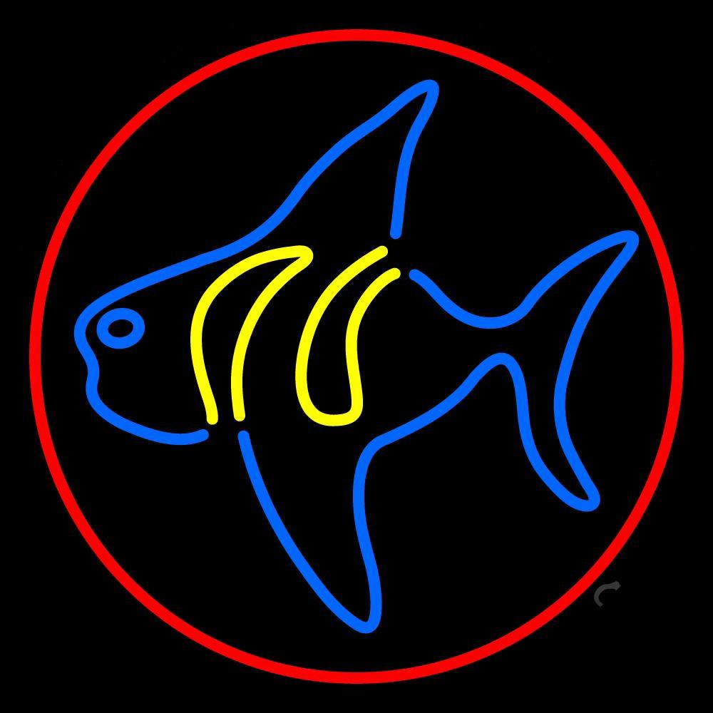 Fish 4 Neon Sign | Animals Neon Signs | Neon Light - photo#27