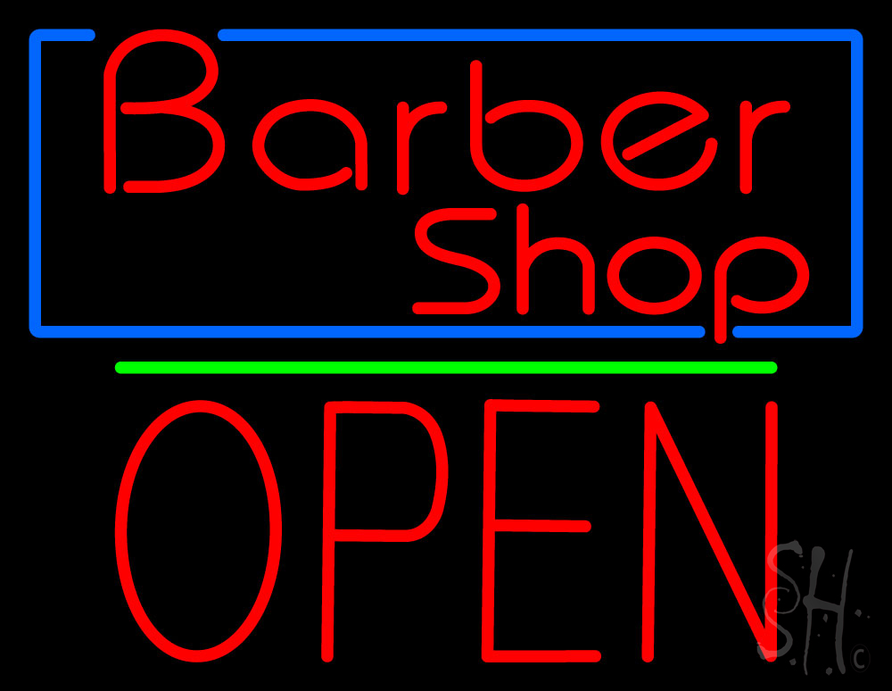 Red Barber Shop Blue Border Neon Sign  Salon Neon Signs. Neko Atsume Stickers. Arthurian Lettering. Mudflap Decals. Easy Brush Lettering. Pagan Signs Of Stroke. Tropical Lettering. Nursing Home Decals. Seoul Lettering