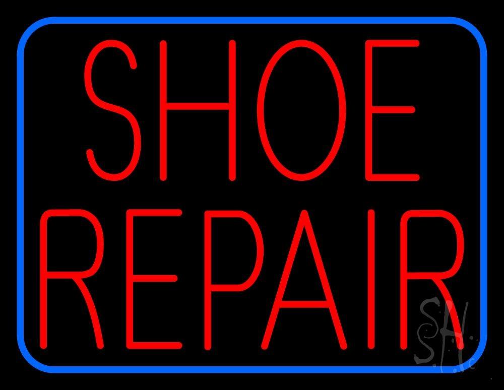 Led Shoe Repair Signs