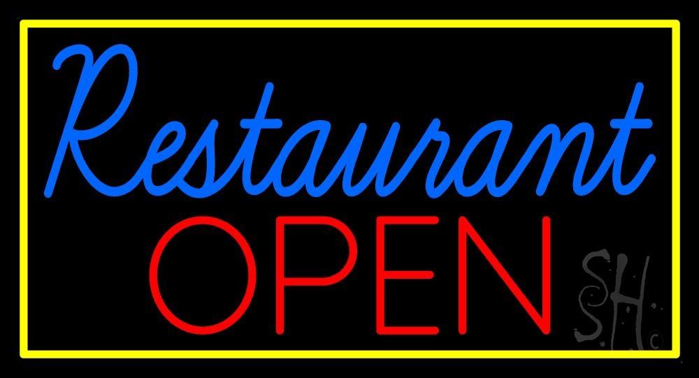 Restaurant Open Sign Led