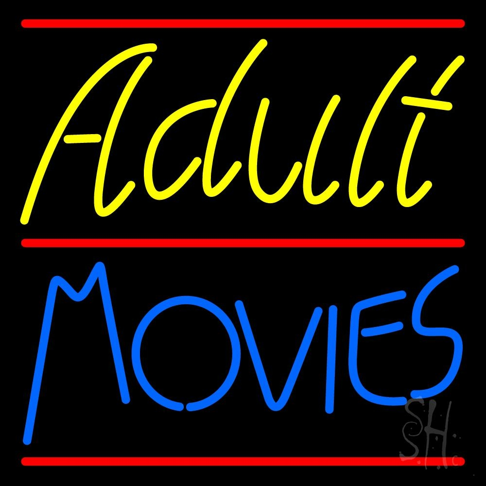 A movie sign