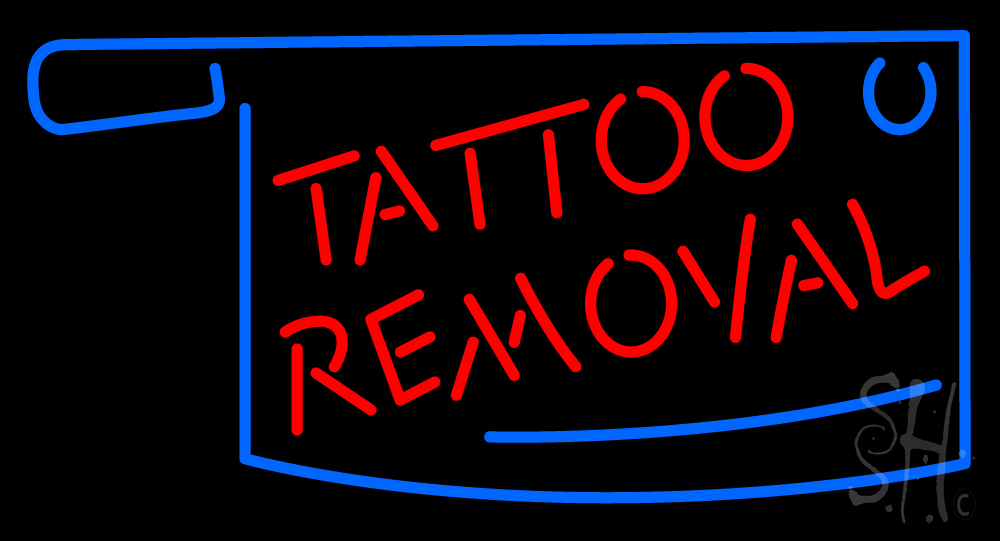 Tattoo removal neon sign tattoo neon signs neon light for Neon tattoo signs