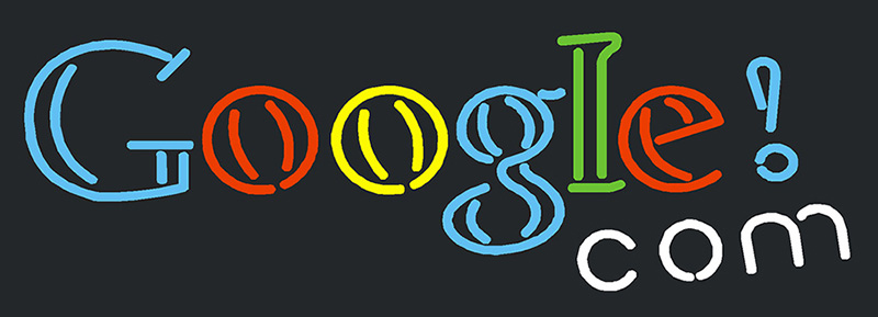 Google Com Neon Sign | Other Neon Signs | Neon Light