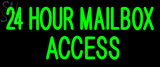 Custom 24 Hour MailboxAccess Neon Sign 2