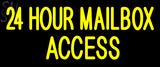 Custom 24 Hour MailboxAccess Neon Sign 1
