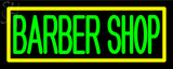 Custom Barber Shop With Border Neon Sign 1