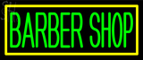 Custom Barber Shop With Border Neon Sign 2