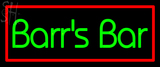 Custom Barr Neon Sign 4