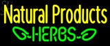 Custom  Bee Natural Products Herbs Neon Sign 3