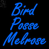 Custom Bird Posse Melrose Neon Sign 4