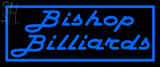 Custom Bishop Billiards Neon Sign 1