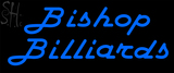 Custom Bishop Billiards Neon Sign 2