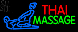 Custom Blue Thai Massage Logo Neon Sign 1