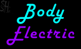 Custom Body Electric Neon Sign 2