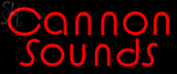 Custom Cannon Sounds Neon Sign 1
