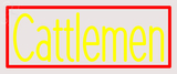 Custom Cattlemen Neon Sign 3