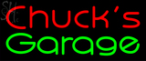 Custom Chucks Garage Neon Sign 2