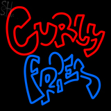 Custom Curly Fries Neon Sign 6