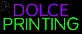 Custom Dolce Printing Neon Sign 2