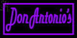 Custom Don Antonio Neon Sign 11