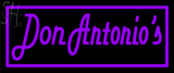 Custom Don Antonio Neon Sign 8