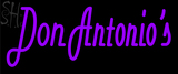 Custom Don Antonio Neon Sign 9