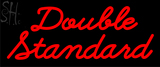 Custom Double Standard Neon Sign 4