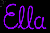 Custom Ella Neon Sign 1