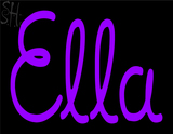 Custom Ella Neon Sign 2