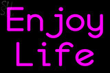 Custom Enjoy Life Neon Sign 3