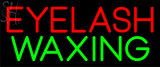 Custom Eyelash Waxing Neon Sign 1
