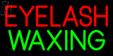 Custom Eyelash Waxing Neon Sign 2