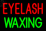 Custom Eyelash Waxing Neon Sign 3