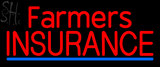 Custom Red Farmers Insurance Neon Sign 1
