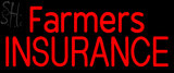 Custom Red Farmers Insurance Neon Sign 2