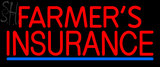 Custom Red Farmers Insurance Neon Sign 3