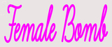 Custom Female Bomb Neon Sign 1