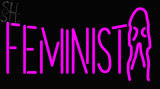 Custom Feminist Girl Neon Sign 1