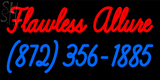 Custom Flawless Allure 872 356 1885 Neon Sign 8