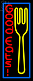 Custom Fork Good Eats Neon Sign 5