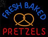 Custom Fresh Baked Pretzels Neon Sign 3