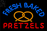 Custom Fresh Baked Pretzels Neon Sign 4