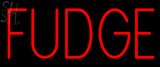 Custom Fudge Neon Sign 1