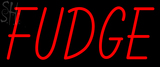 Custom Fudge Neon Sign 2