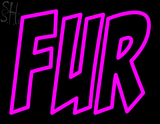 Custom Fur Neon Sign 4