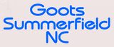 Custom Goots Summerfield Neon Sign 3